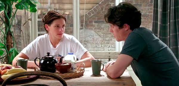 Júlia Roberts e Hugh Grant são os protagonistas.  / Divulgação