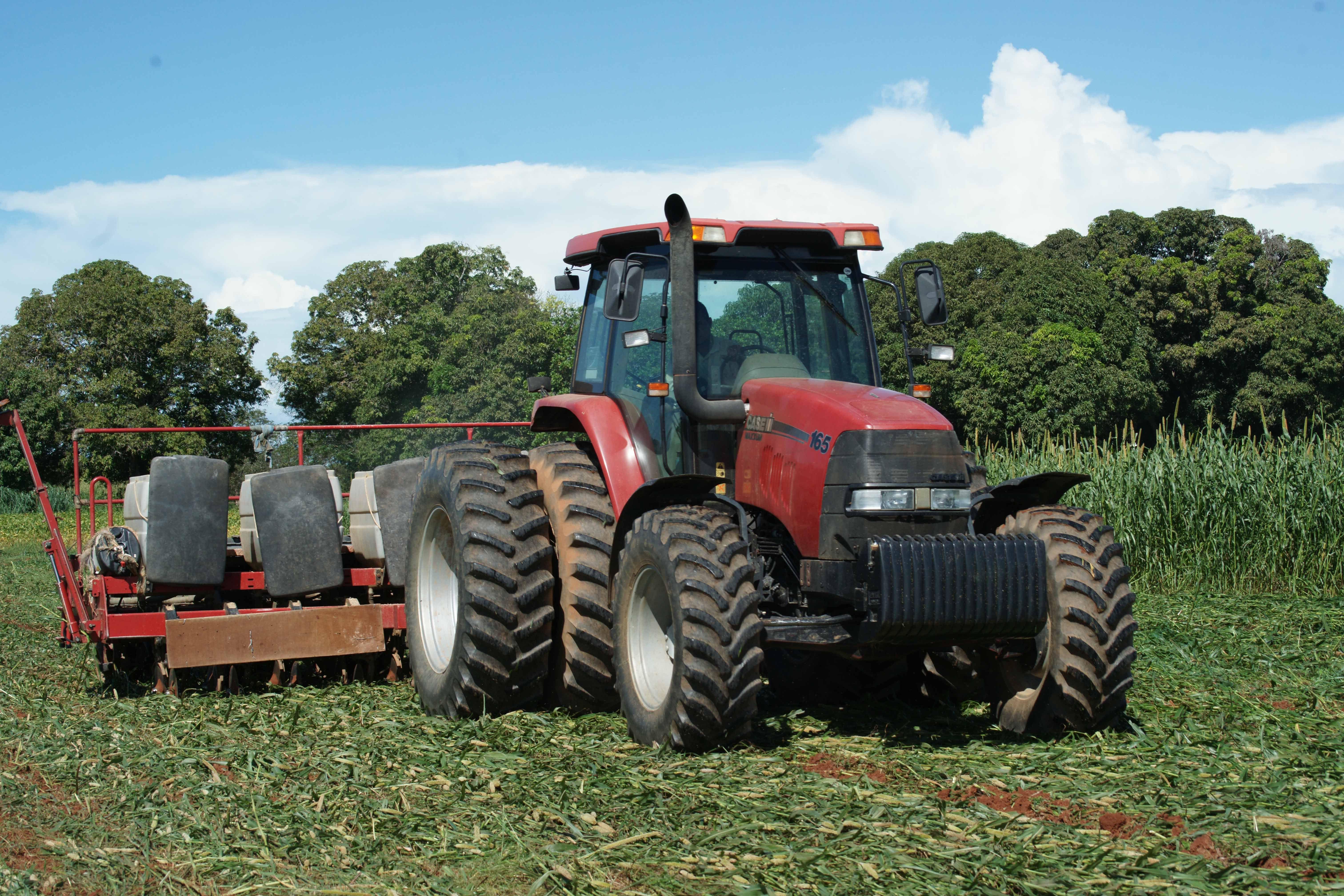 Plantio direto dá adeus à erosão e à compactação dos solos