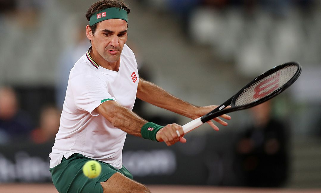 Roland Garros será único torneio de Federer no saibro em 2020