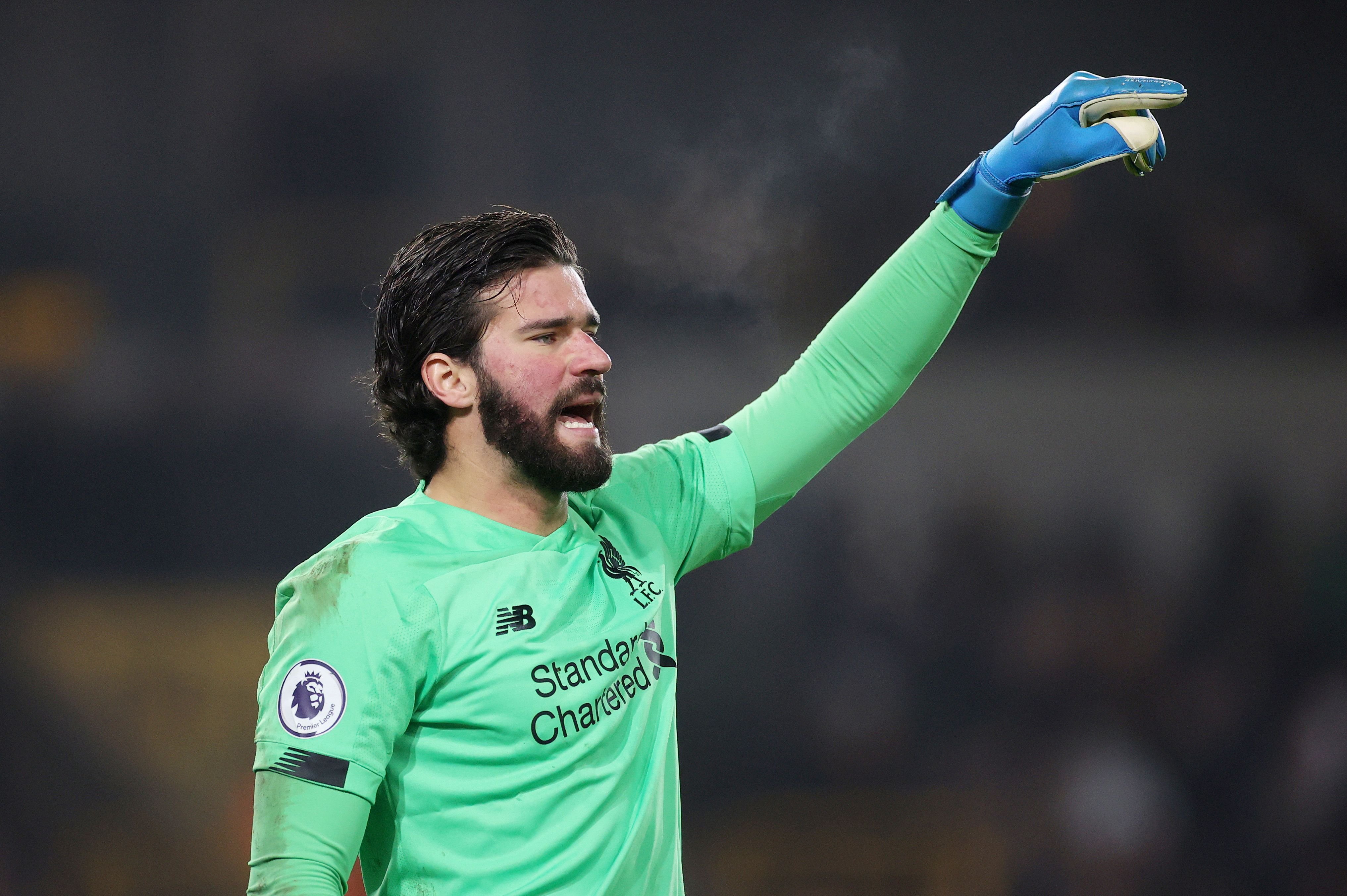 Alisson prevê problemas ao Liverpool em Madri