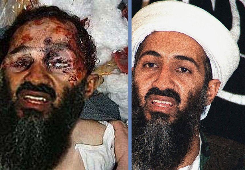 Imagem mostra o rosto do terrorista após sua morte
