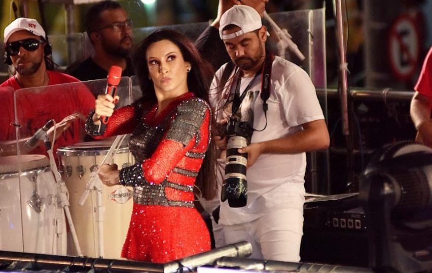 Claudia Leitte lança 'Rebolada Bruta' com MC Zaac