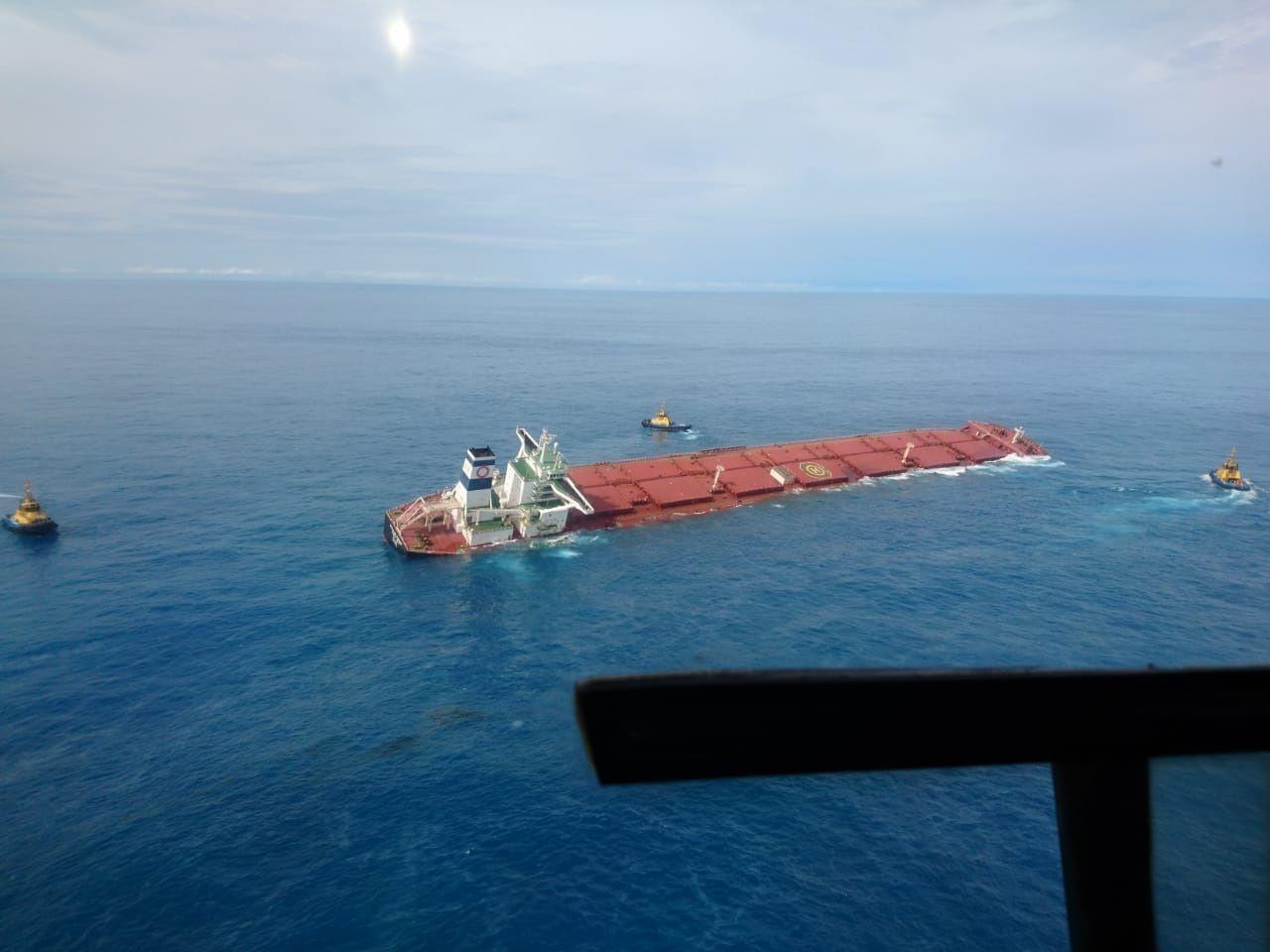 Embarcação está afundando perto da costa do Maranhão / BandNews FM