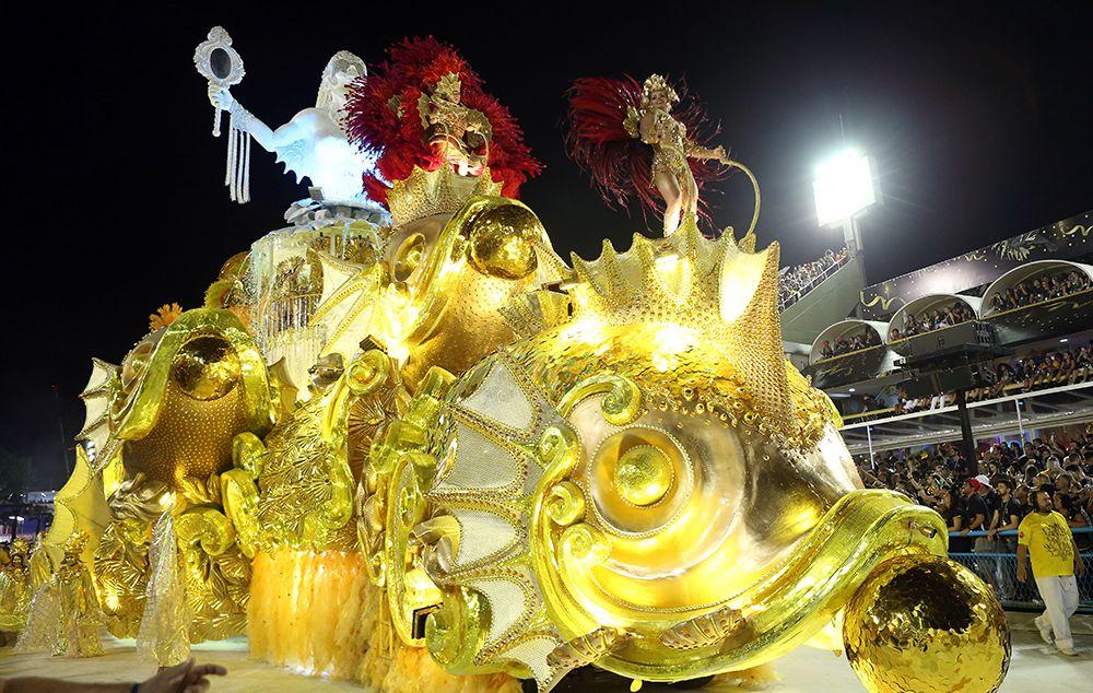 Viradouro é a campeã do grupo especial do Carnaval do Rio de Janeiro