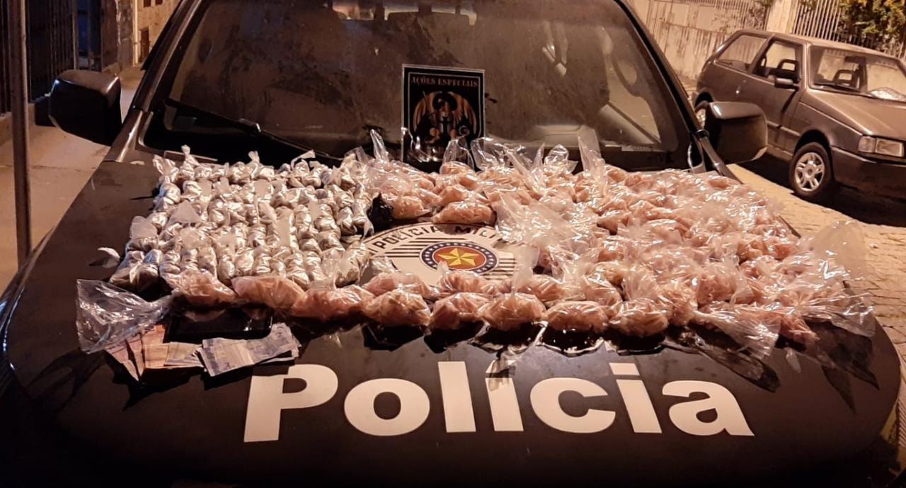 Homem é preso com cerca de quatro mil pinos de cocaína em Lorena