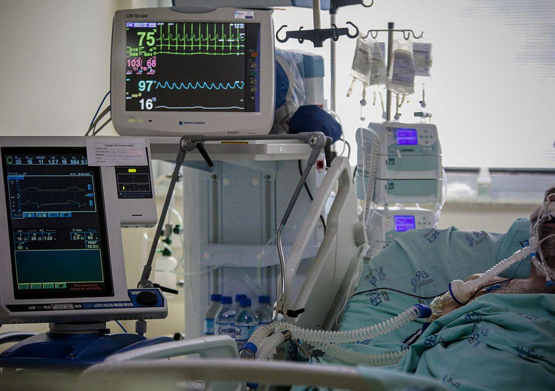 Brasil tem 2º maior dia de mortes por covid-19 desde o início da pandemia