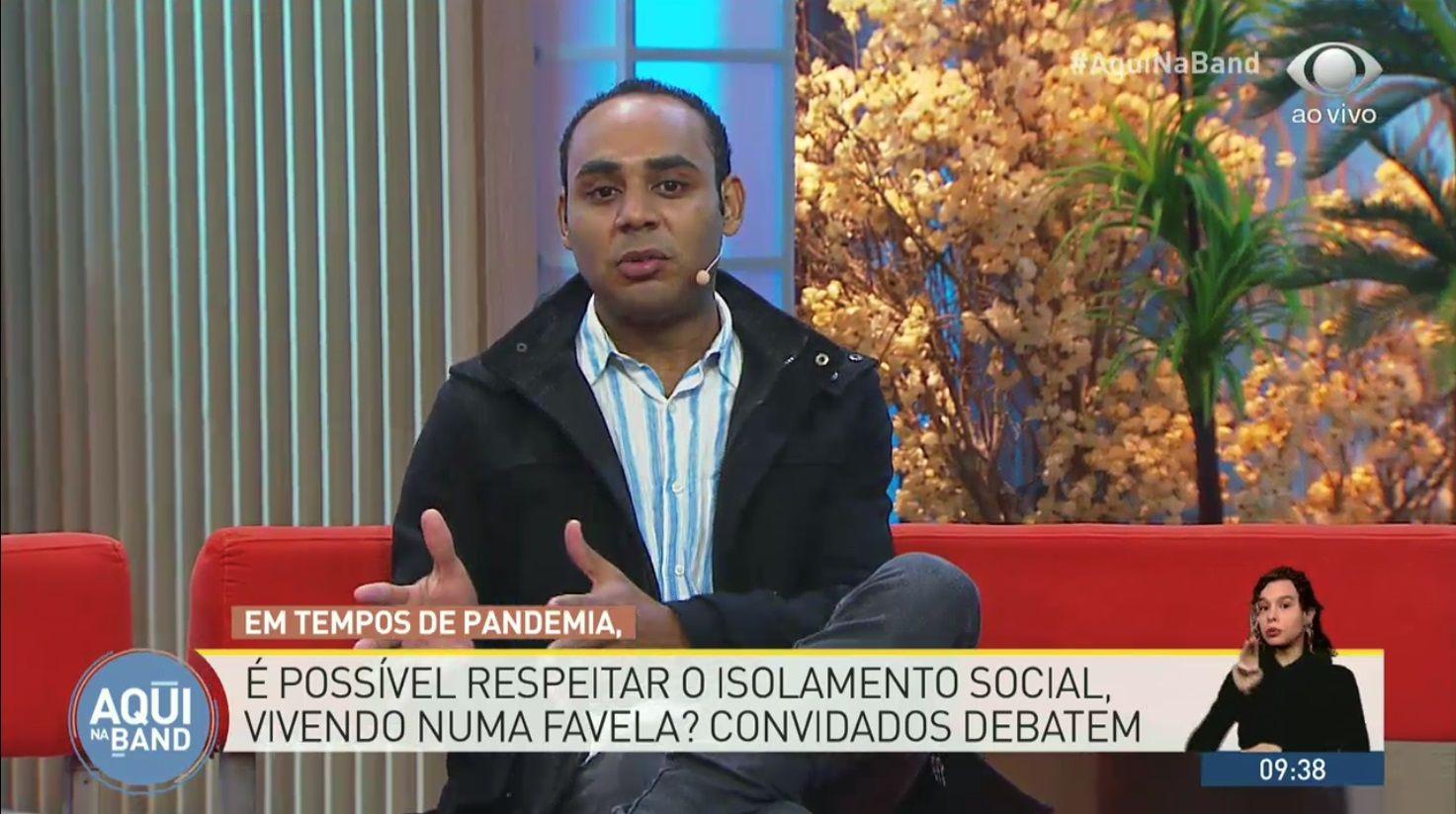 """""""Quarentena na favela é impossível"""", diz líder em Paraisópolis"""