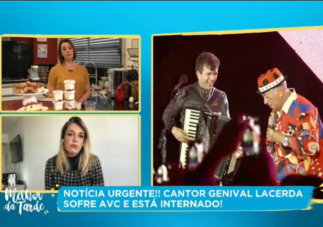 Cantor Genival Lacerda sofre AVC e está internado