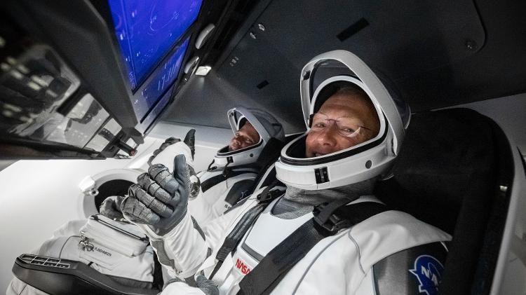 SpaceX: astronautas estão a caminho da Terra após 63 dias