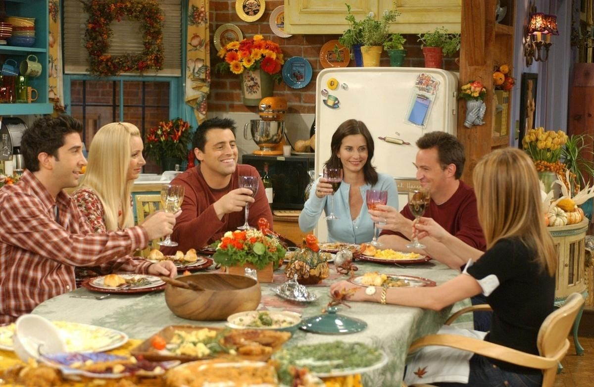 Cena da série Friends
