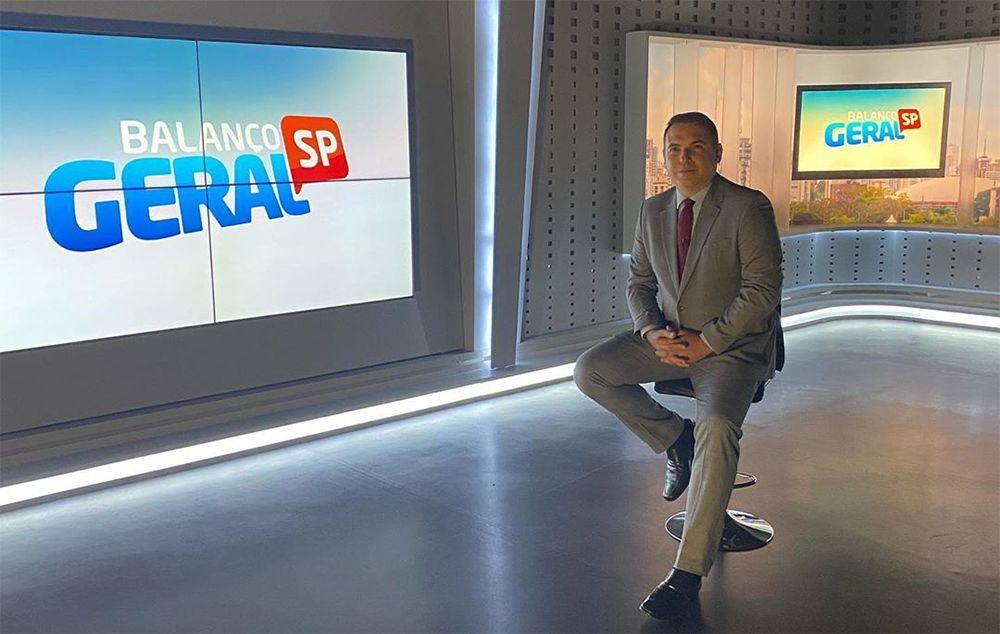 Volta de Gottino à Record gera ciúmes nos bastidores da emissora