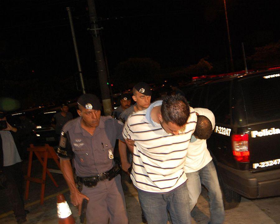 Após denuncia anônima, a polícia foi a um sítio utilizado por uma quadrilha de traficantes ligada ao PCC / Foto: Helio Torchi/Futura Press