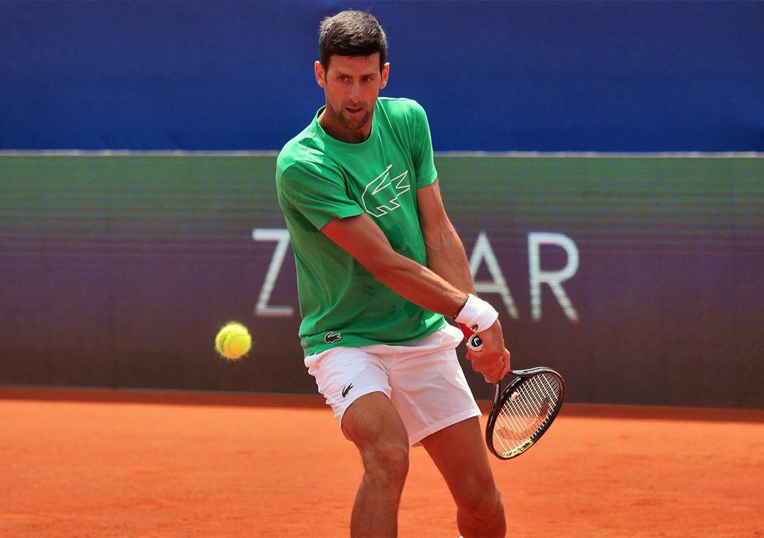 Djokovic e esposa testam negativo para o coronavírus