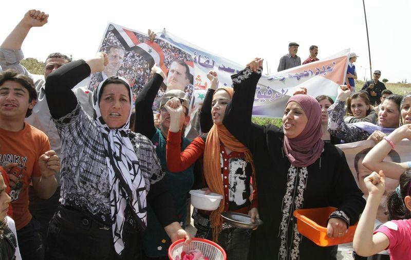 Manifestações na Síria continuam