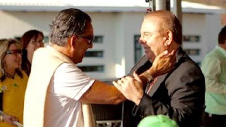 Galvão Bueno e Luciano do Valle: amigos