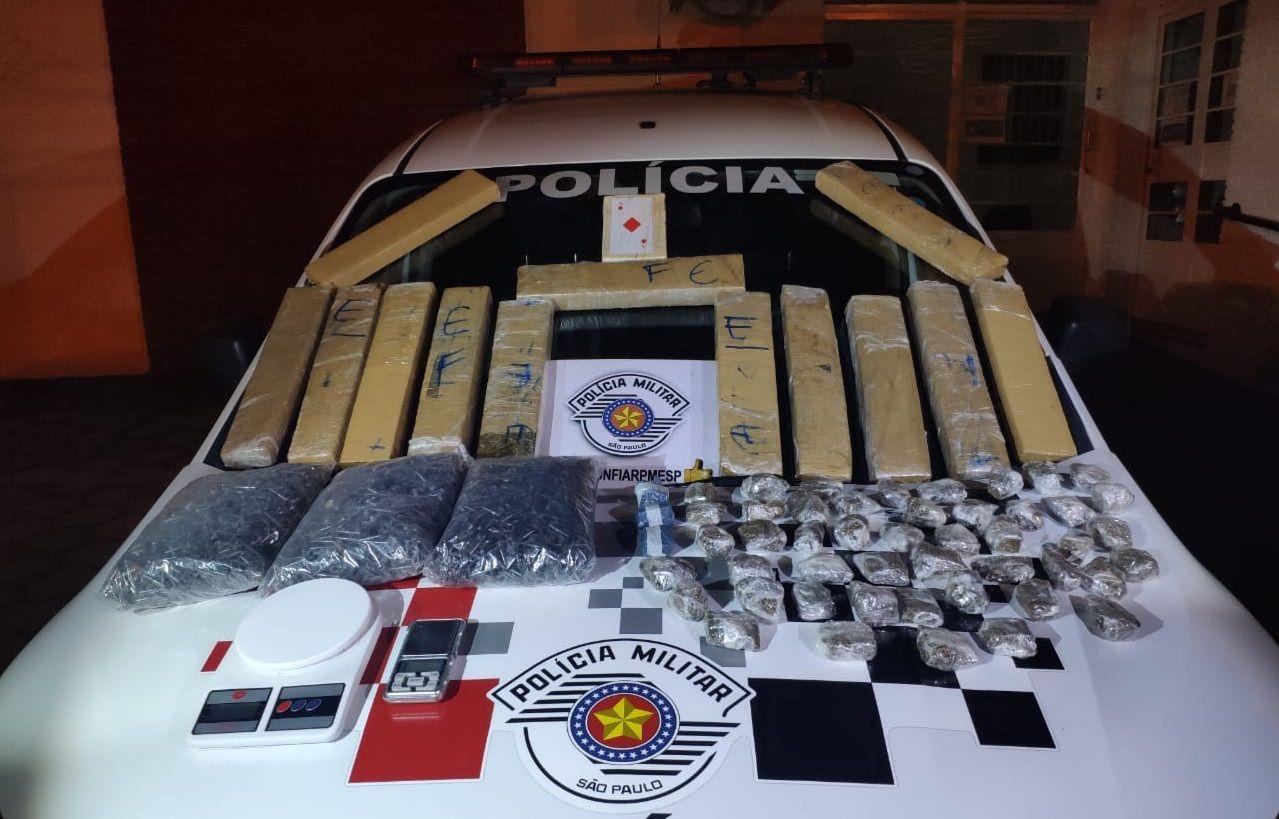 Homem é preso com cerca de 20kg de maconha em Guaratinguetá