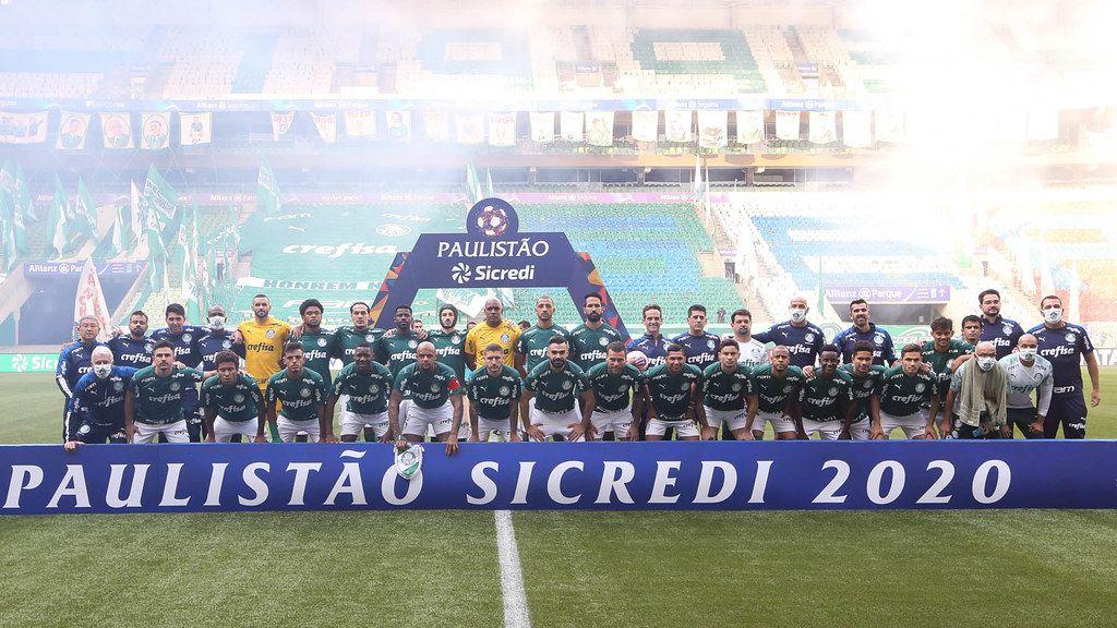 Palmeiras divulga mais cinco casos de Covid-19 em seu elenco