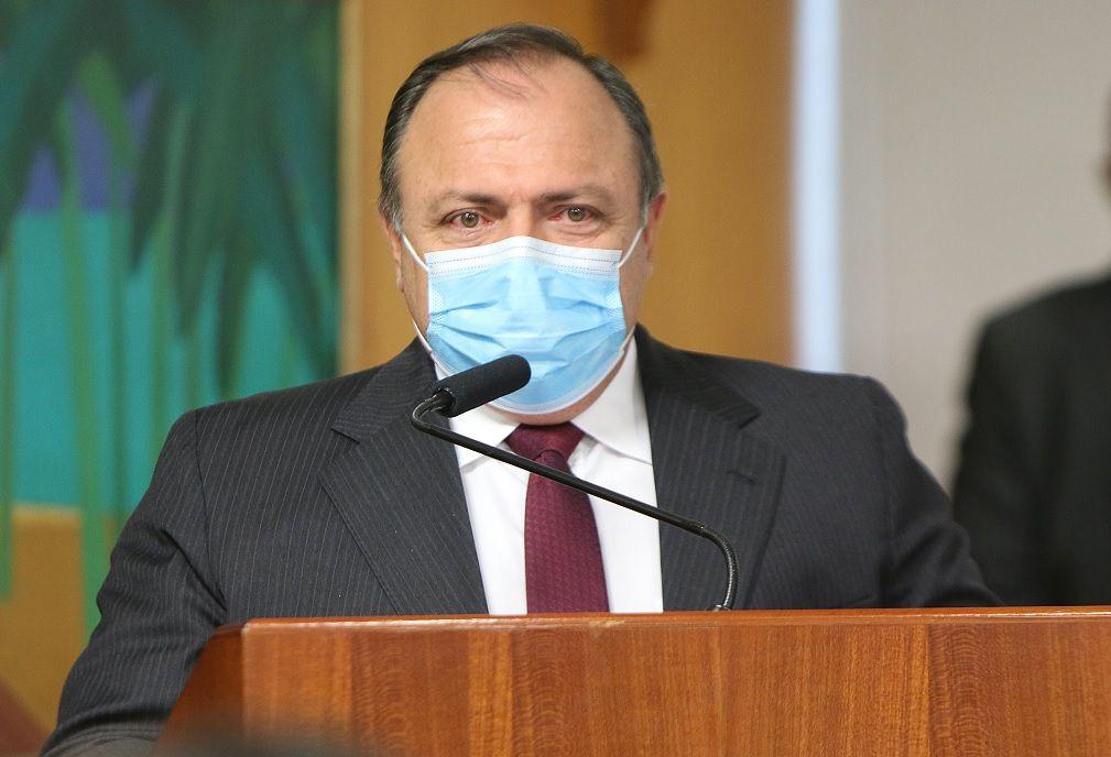 Pazuello diz que avião que vai buscar vacina na Índia deixa o Brasil nesta quarta