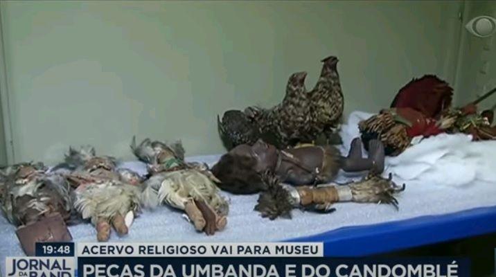 Imagem mais compartilhada Peças de religiões africanas apreendidas pela Polícia vão para museu no Rio