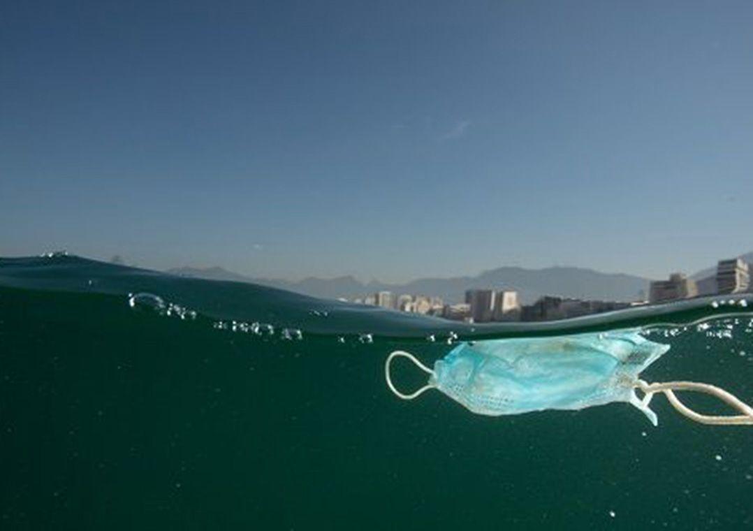 Imagem mais compartilhada Descarte de máscaras contra Covid-19 impacta no meio-ambiente, afirma especialista