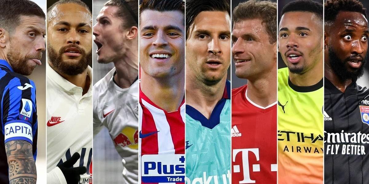 Torneio inédito que marca as finais do campeonato europeu