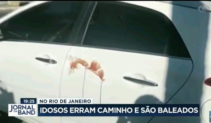Idosos erram caminho e são baleados em favela no Rio de Janeiro