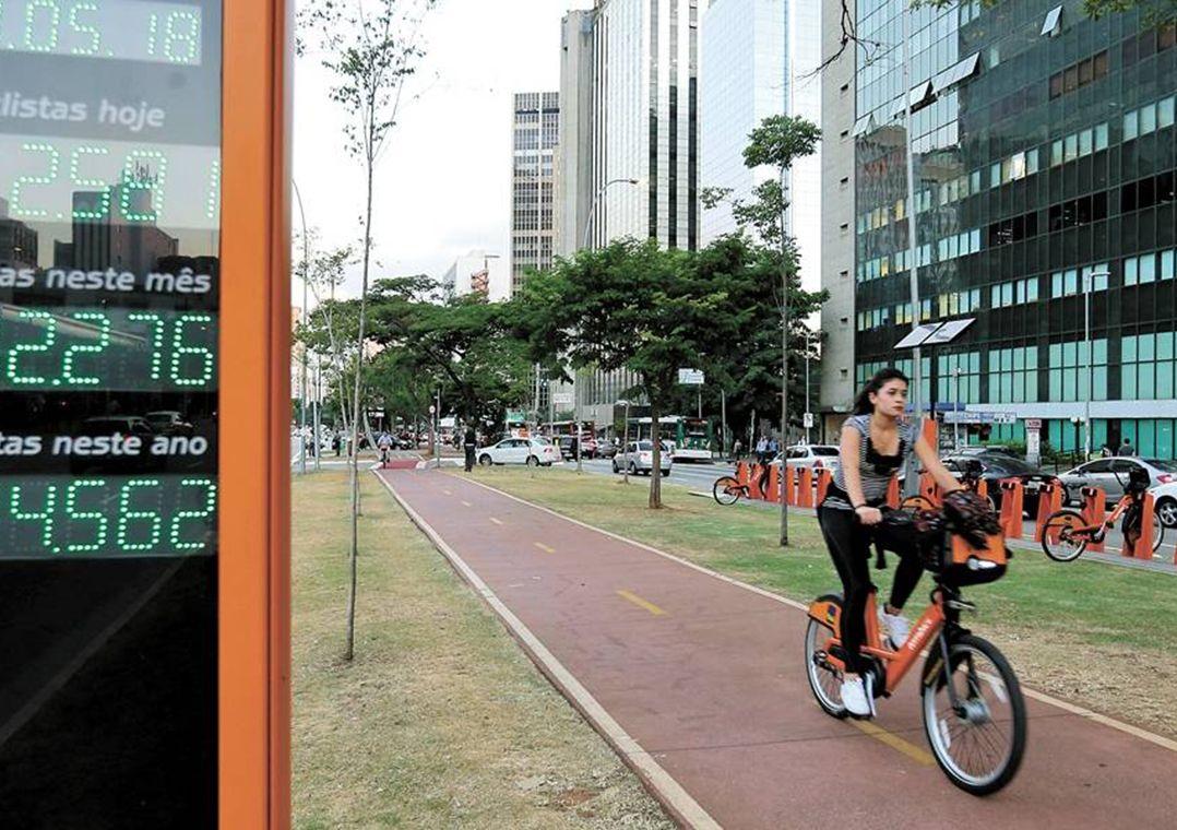 Prefeitura começa reformar hoje ciclovia da Avenida Faria Lima, em SP