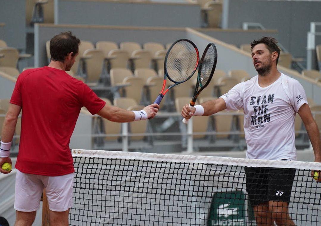 Murray e Wawrinka se enfrentam na primeira rodada de Roland Garros