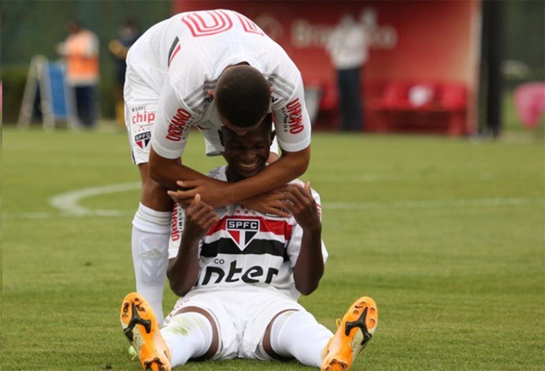 Veja o gol: São Paulo estreia no Brasileirão Sub-20 com vitória