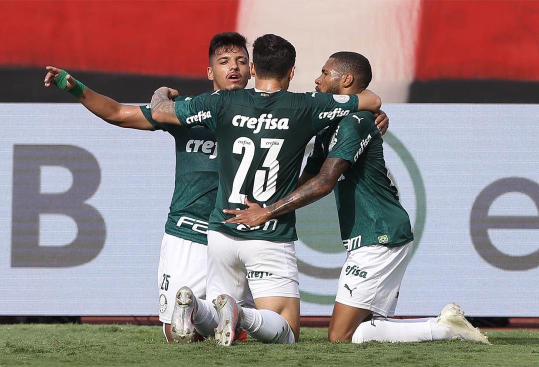 Palmeiras vence o Atlético-GO; veja o gols