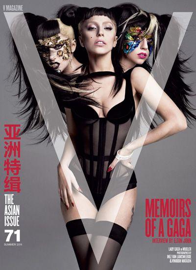 Gaga inovou mais uma vez no visual