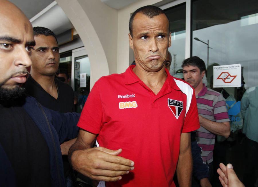Rivaldo manteve o tom das críticas feitas após o jogo em Florianópolis