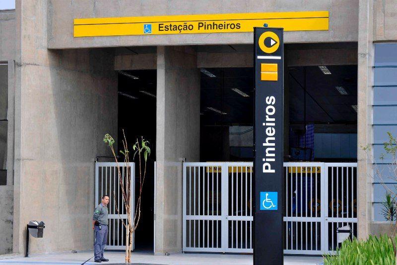 Estação Pinheiros recebeu neste domingo os últimos retoques antes da inauguração