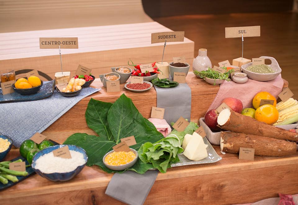 Cozinheiros encaram ingredientes da gastronomia nacional