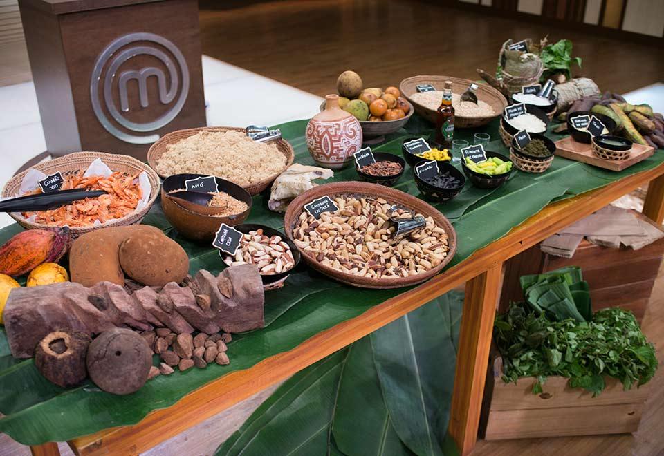 Chef Thiago Castanho apresenta ingredientes do norte