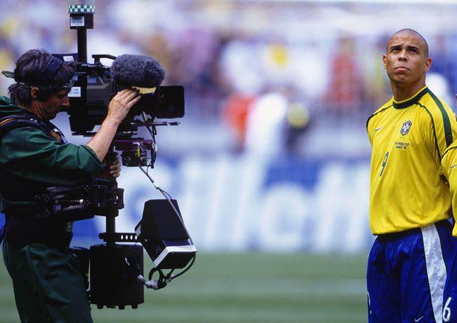 Câmeras não desgrudaram de Ronaldo durante a Copa