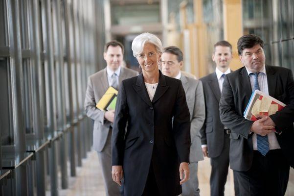 Christine Lagarde tem apoio de Londres