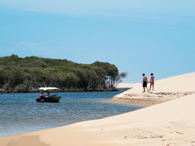 Rio Parnaíba é o único das Américas cuja foz deságua em mar aberto
