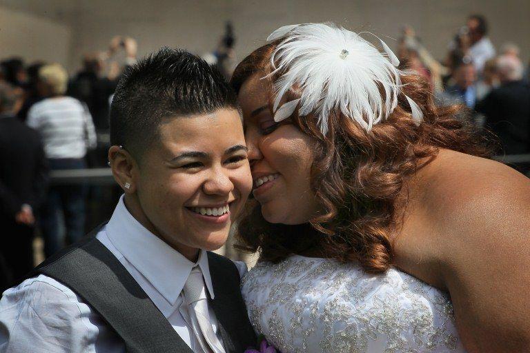 Myra Rodriguez e Janeida Rivera oficializaram a união