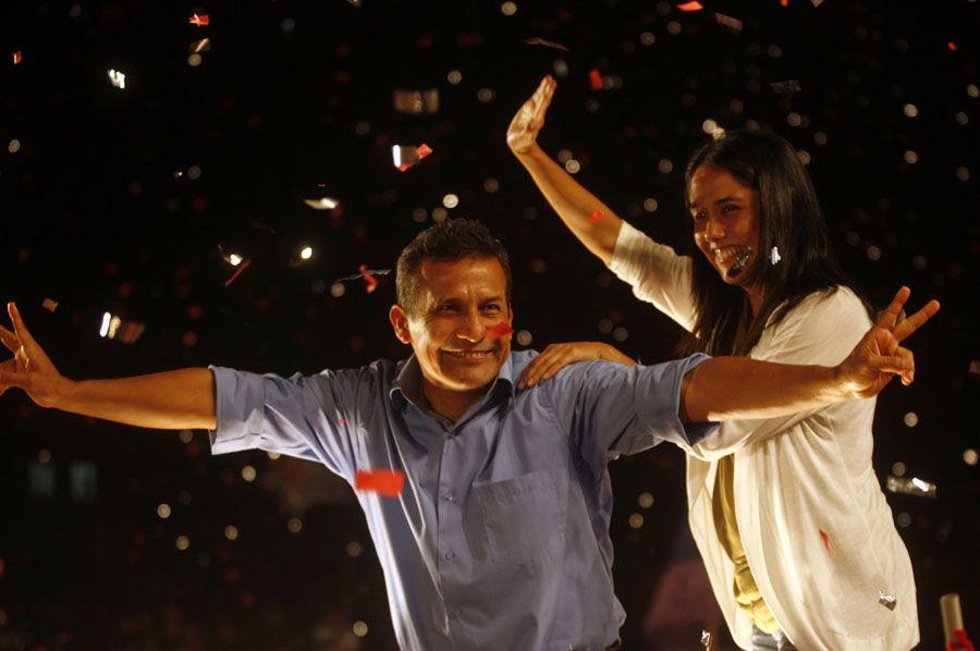 Humala venceu uma eleição marcada pelas pesadas acusações de ambos os lados