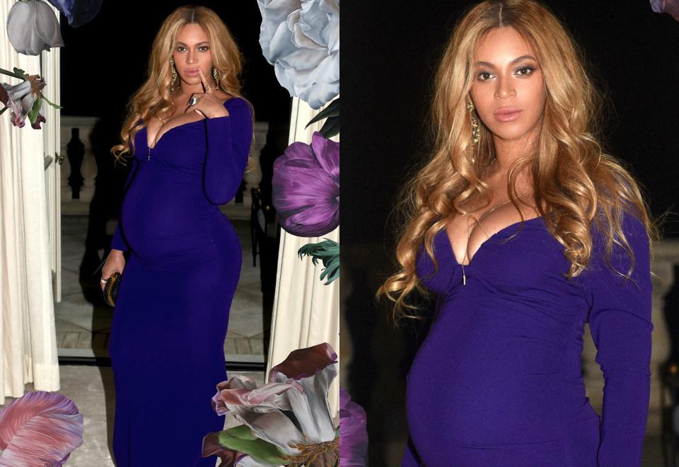 Beyoncé agita a web com novos cliques do barrigão
