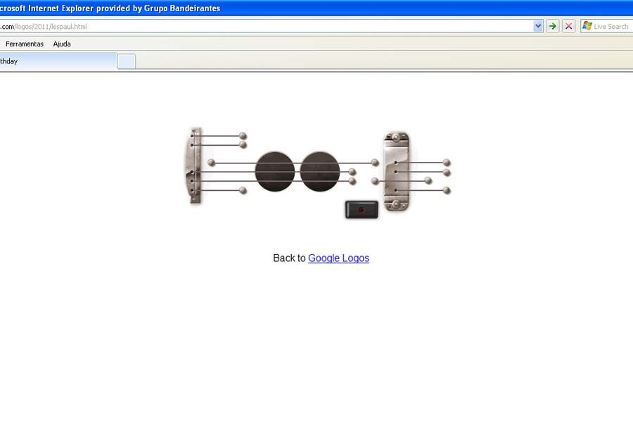 Homenagem a Les Paul fez sucesso entre internautas de todo o mundo / Foto: Reprodução