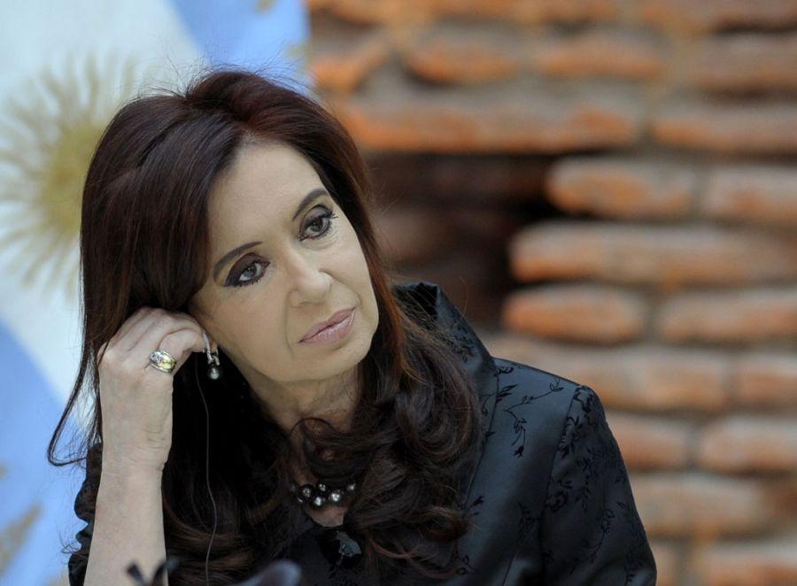 A presidente Cristina Kirchner estará presente na inauguração de uma nova embaixada argentina / Juan Mabromata/AFP