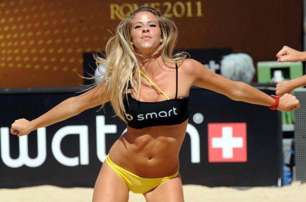 Veja as fotos da gatas do Mundial de vôlei de praia em Roma