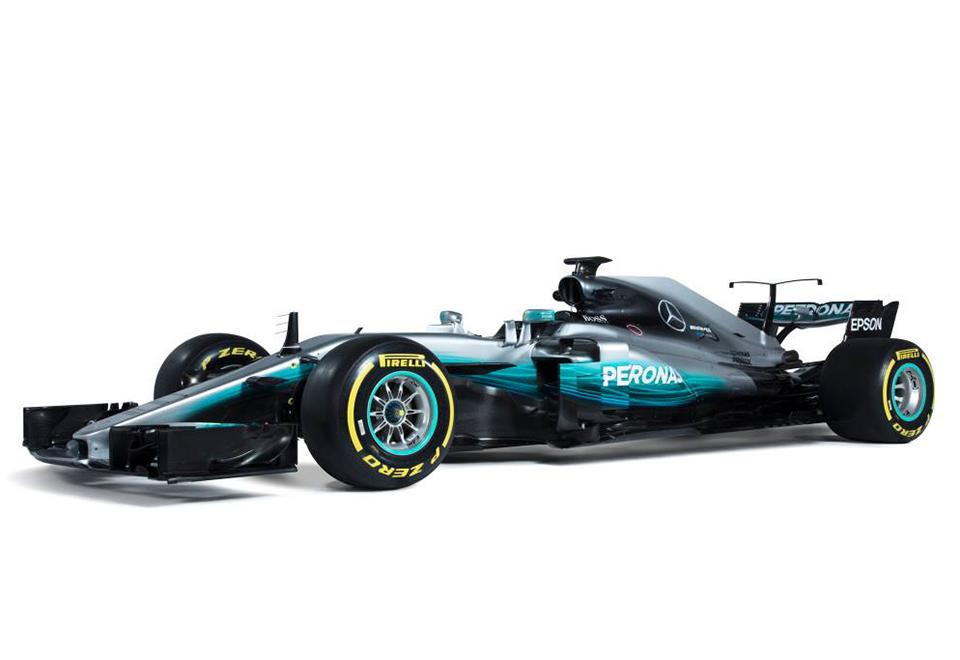 Veja os novos carros da Fórmula 1 em 2017