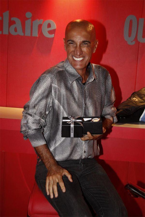 Amin Khader era humorista e repórter / Foto: Felipe Assumpção e Phillip Lima/AgNews