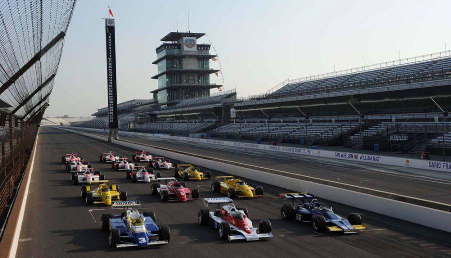 Todos os carros da equipe Penske que venceram as 500 Milhas estarão no Festival de Goodwood / Foto: Steve Swoop/Team Penske