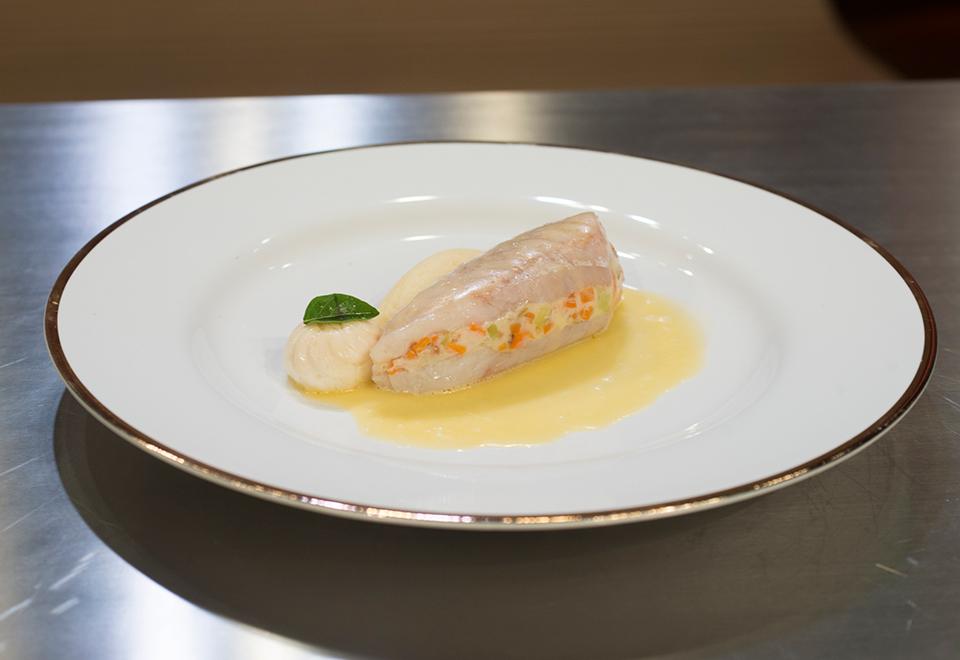 Competidores reproduzem prato de Laurent Suaudeau