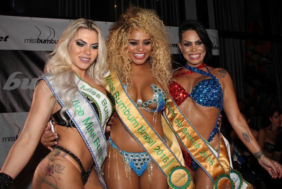 Erika Canella, da Bahia, vence o Miss Bumbum 2016