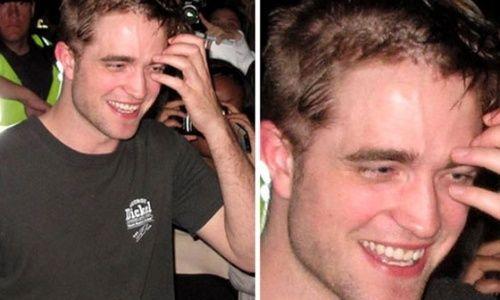 Robert Pattinson adere a moda dos cabelos raspados / Foto:Reprodução/TMZ